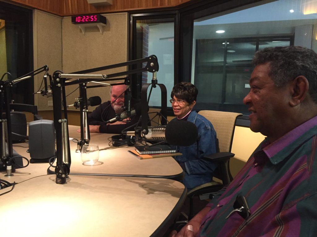Recording with Guests from the Whitely Community Food Pantry