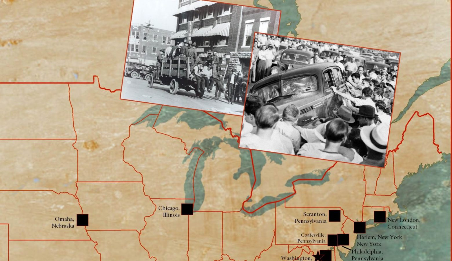Mapping Black History In Muncie  Indiana Public Radio - Chicago highlights map