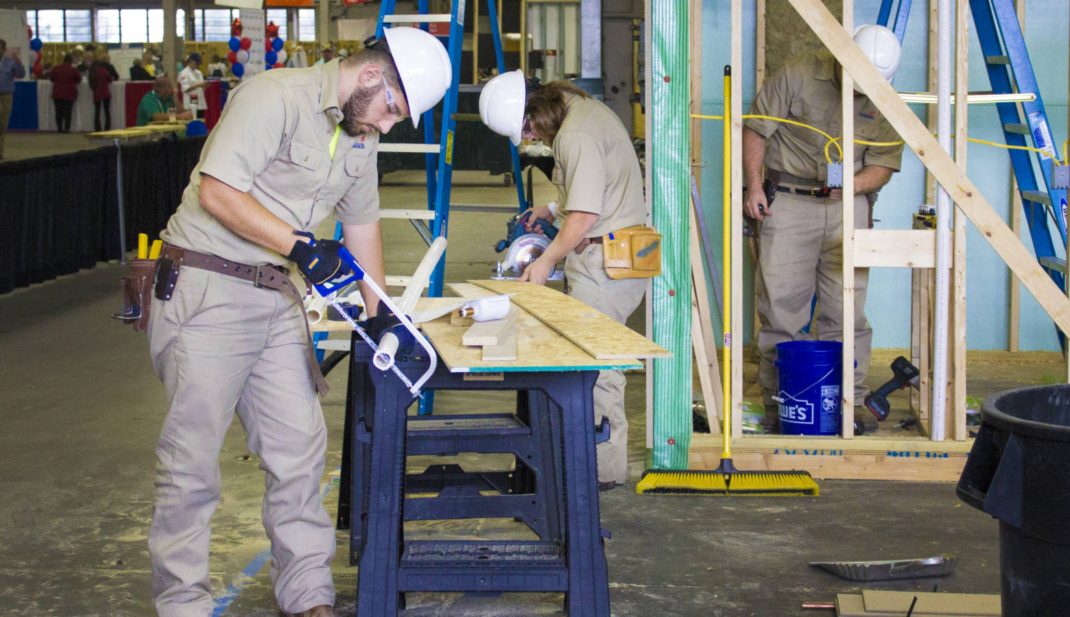 Students from around the nation compete each year in job skills contests at the SkillsUSA national competition, pictured here. (Peter Balonon-Rosen/IPB News)