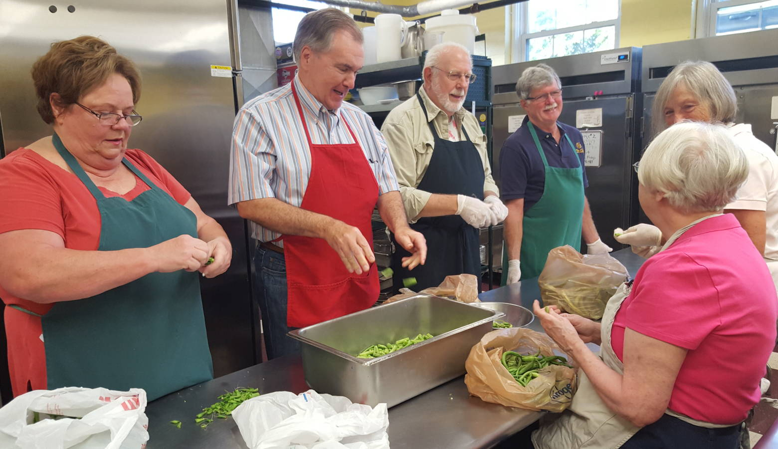 Burris Laboratory School 50th Reunion Class Gives Back To Soup ...