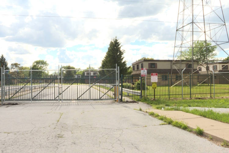 The now-vacant West Calumet Housing Complex has high levels of lead and arsenic in its soil. (IPB file photo)