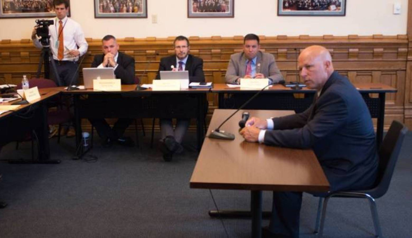 Republican State Senator Michael Crider is a former conservation officer and introduced the bill to a study committee.