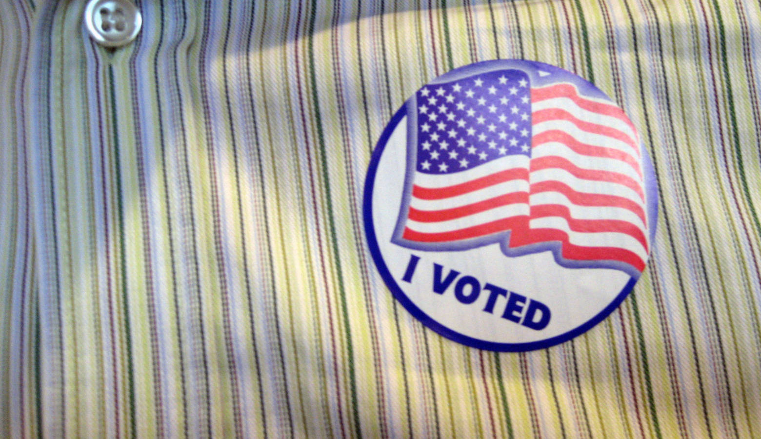 A new national poll shows a potential spike in young people voting in this year's midterm elections. (Daniel Morrison/Flickr)
