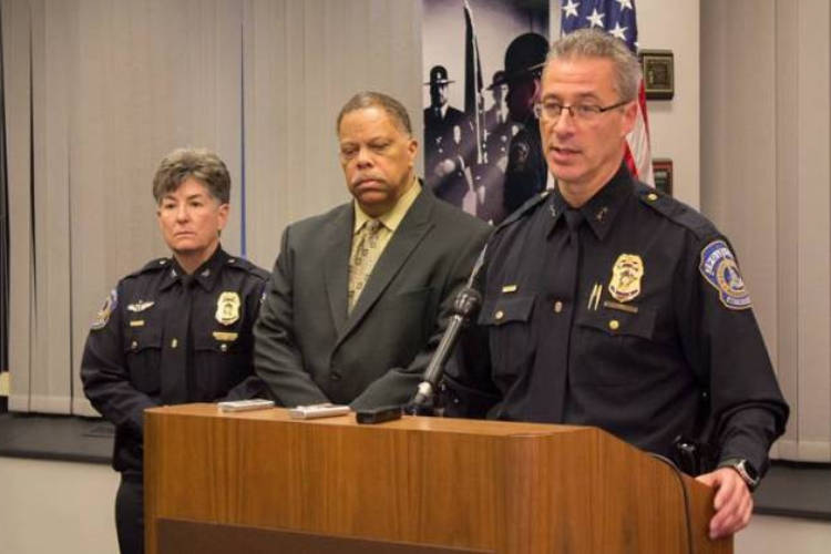 IMPD Chief Bryan Roach recommended the termination of the two officers who shot and killed Aaron Bailey. A merit board voted to clear both men of any violations.