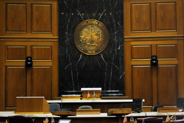 The Indiana Alcohol Code Revision Commission debated whether to change the state's alcohol permit quota system. (Lauren Chapman/IPB News)