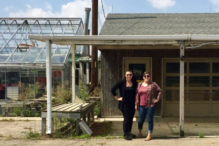 Bellfound Farm founders Nekoma Burcham and Alena Jones. (Jill Sheridan IPB News)