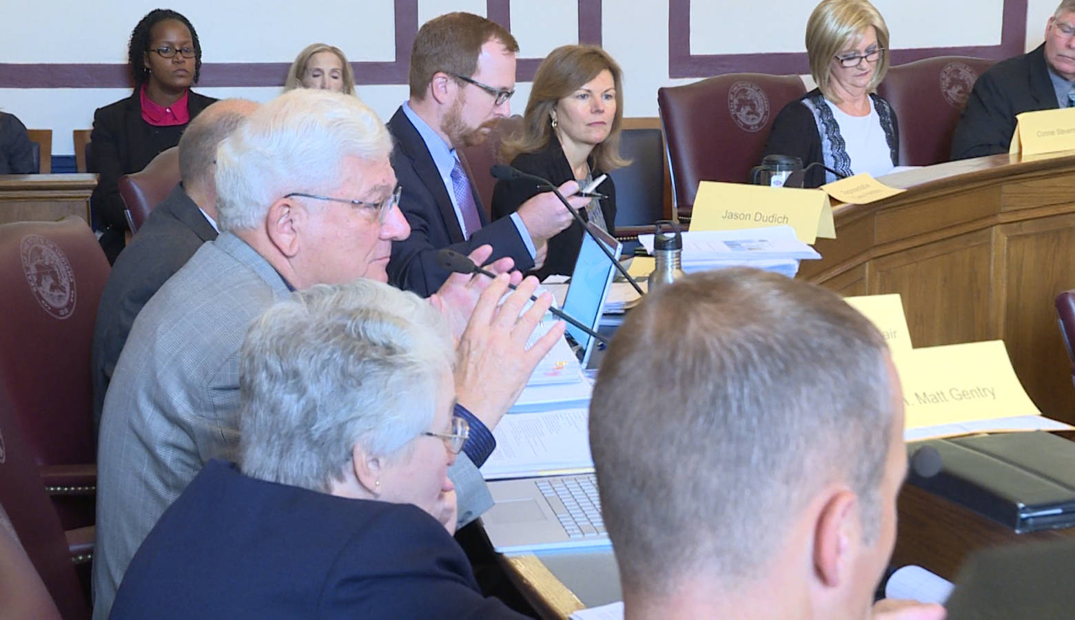 The first meeting of Indiana's Water Infrastructure Task Force (Rebecca Thiele/IPB News)
