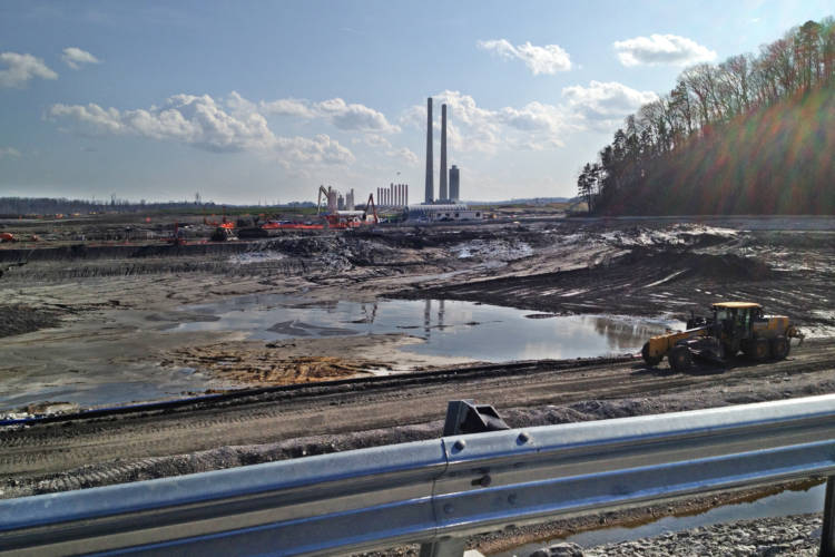 The site of the 2008 Tennessee Valley Authority Kingston Fossil Plant coal ash spill three years later. (Appalachain Voices/Flickr)