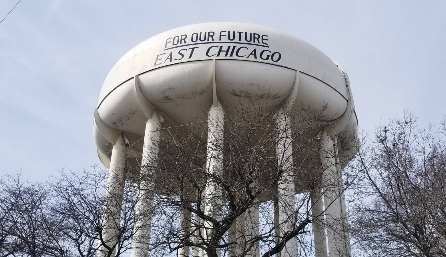 East Chicago residents get their water from Lake Michigan, but EPA officials say they could decided to clean up any contamination in the groundwater to drinking water standards. (Samantha Horton/IPB News)