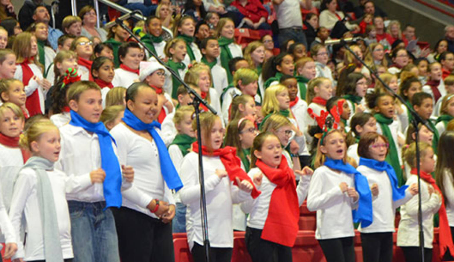 Muncie Christmas Sing 2021 Muncie S 82nd Annual Community Christmas Sing Sunday At Worthen Arena Indiana Public Radio