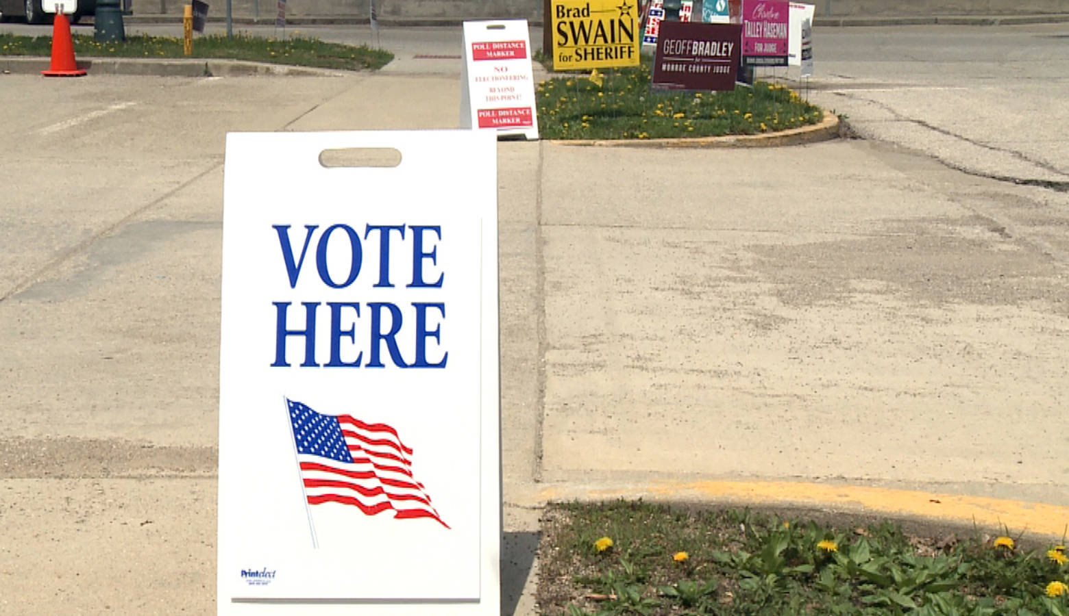 Indiana's turnout for this year's General Election was the best in a midterm in more than two decades. (Tyler Lake/WTIU)