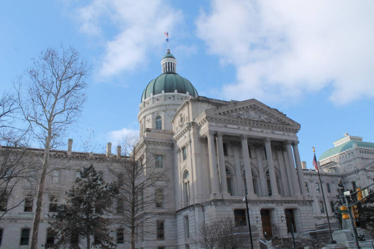 The Indiana Statehouse. (Lauren Chapman/IPB News)