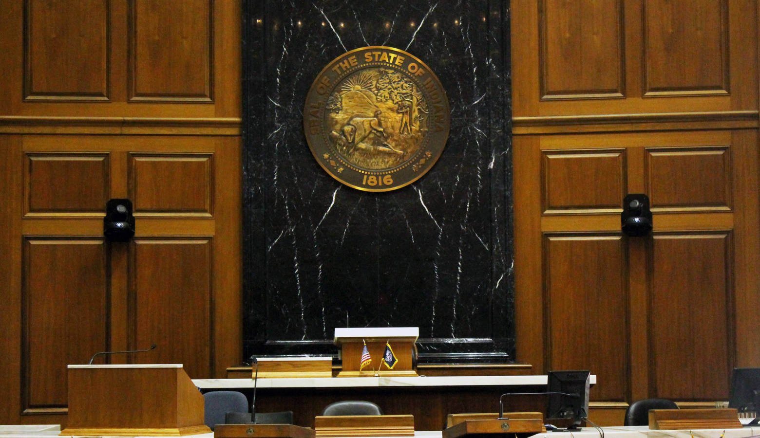 The Indiana House easily approved legislation Tuesday that seeks to help Department of Child Services caseworkers by easing some of their job expectations. (Lauren Chapman/IPB News)