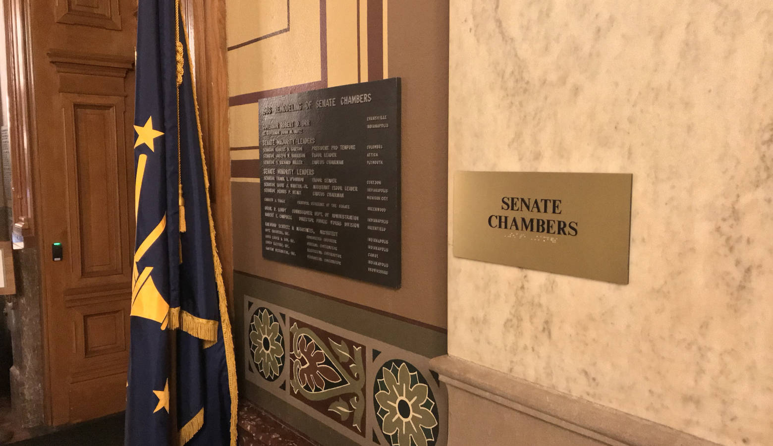 The Senate Ethics Committee approved changes to the ethics rules for its chamber. (Brandon Smith/IPB News)