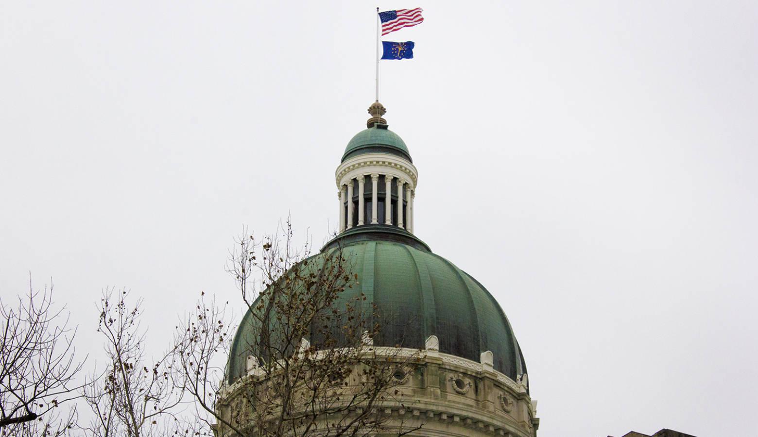 Indiana Statehouse (FILE PHOTO: Peter Balonon-Rosen/IPB News)