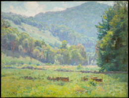Theodore Clement Steele - Tennessee Mountain Land - 1899