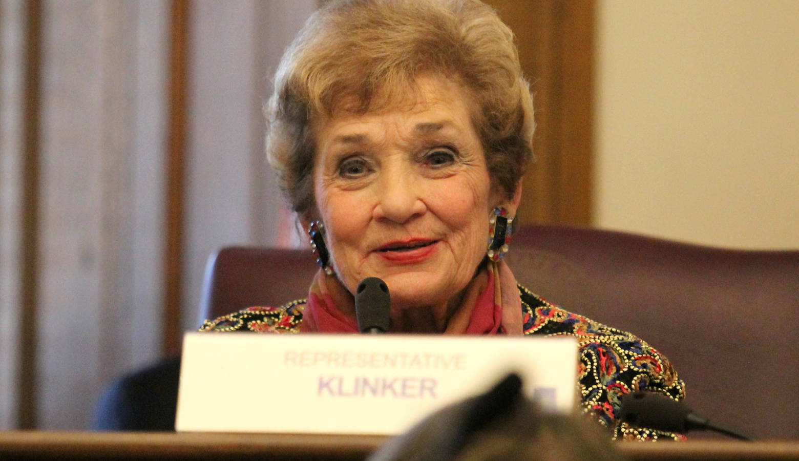 Rep. Sheila Klinker (D-Lafayette) says the state must address the burgeoning use of e-cigarettes among young people. (Lauren Chapman/IPB News)