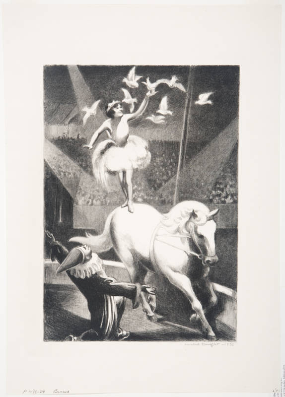 Mabel Dwight - Circus - 1930