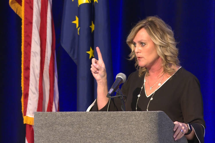 State Superintendent of Public Instruction Jennifer McCormick took office in 2017 and will be the last elected official to oversee the Indiana Department of Education. (Jeanie Lindsay/IPB News)