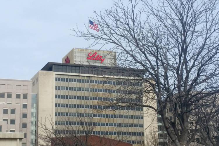 Eli Lilly's headquarters in Indianapolis. (Lauren Chapman/IPB News)
