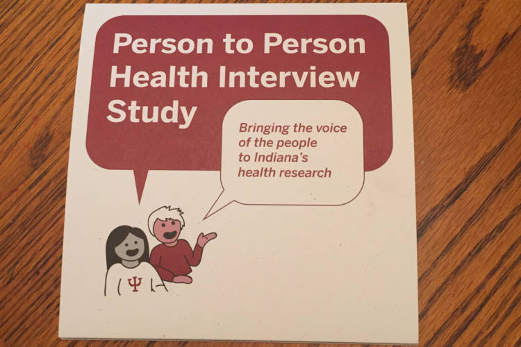 Health researchers in Indiana are knocking on doors to collect surveys – and DNA samples. A growing number of studies factor in zip code when considering health outcomes. (Jill Sheridan/IPB News)