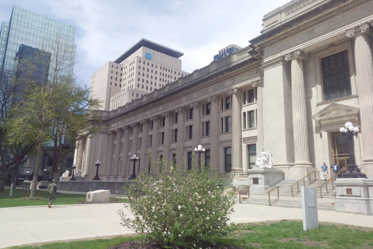 Birch Bayh Federal Building and U.S. Courthouse (Lauren Chapman/IPB News)