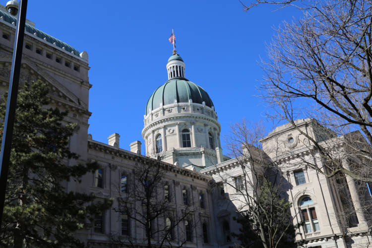 Indiana Statehouse (WTIU)