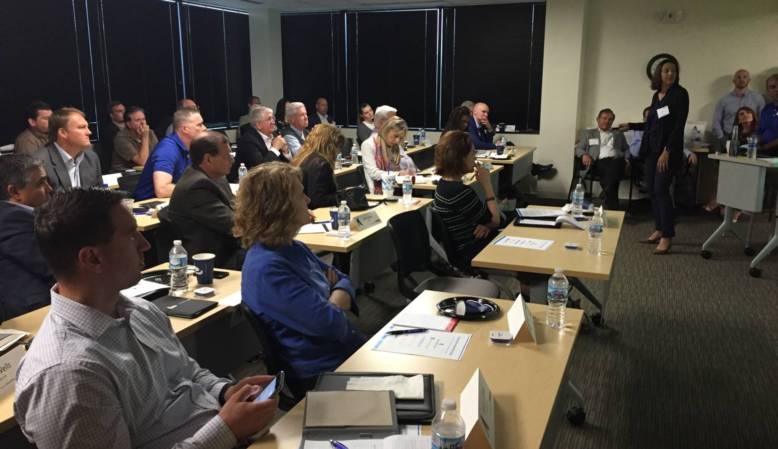 """The """"Cracking the Health Plan Code"""" forum was held in Indianapolis. (Jill Sheridan/IPB News)"""