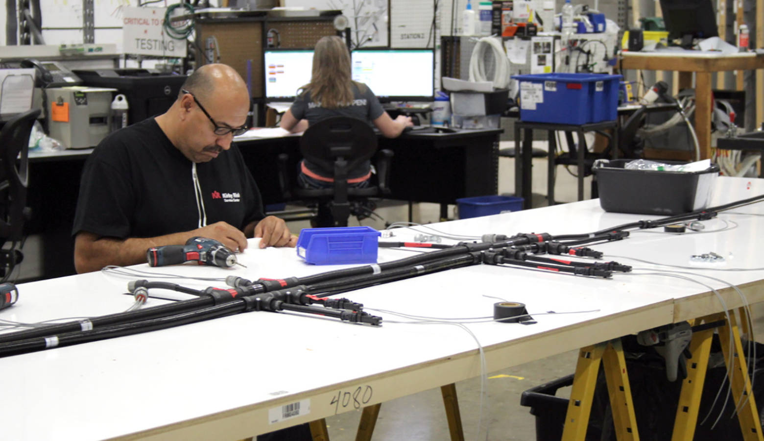 Indiana businesses are concerned the escalated trade war between the United States and China will hurt their financial future. (FILE PHOTO: Annie Ropeik/IPB News)