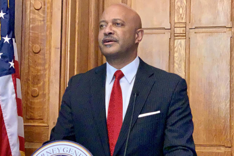 Attorney General Curtis Hill is suing credit agency Equifax over a 2017 data breach that exposed the private information of nearly 4 million Hoosiers. (Brandon Smith/IPB News)