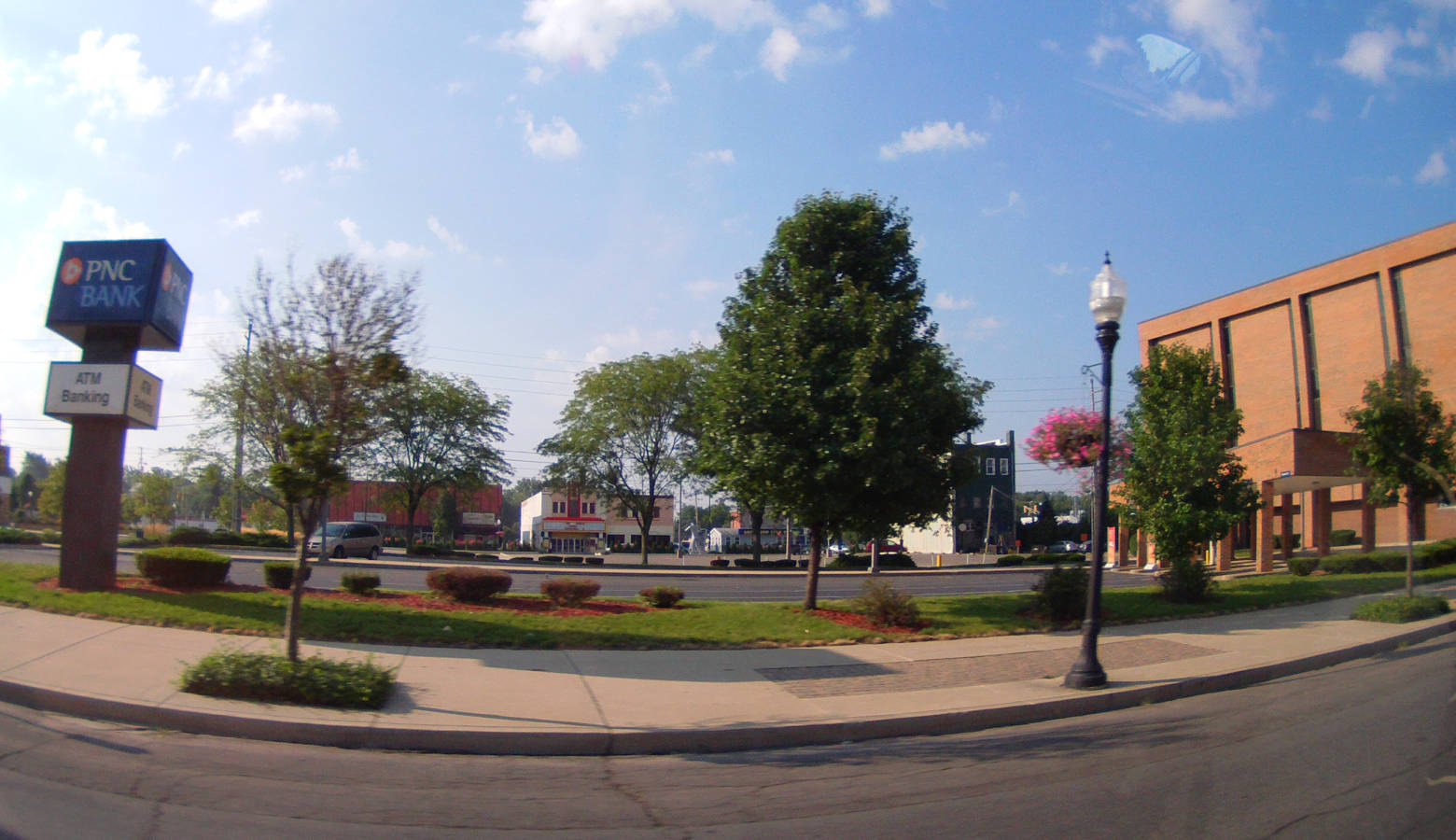 A panoramic view of Logansport, 2013 (Evan Nichols/Wikimedia Commons)