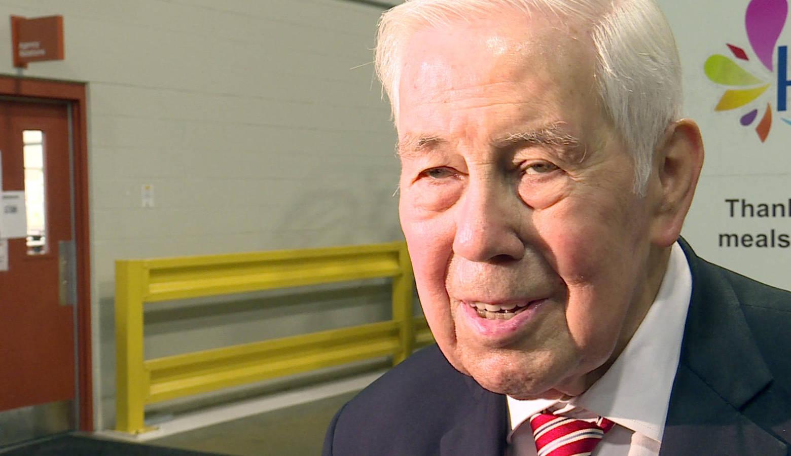 Former Sen. Richard Lugar (R-Ind.) passed away April 28. (Lauren Chapman/IPB News)