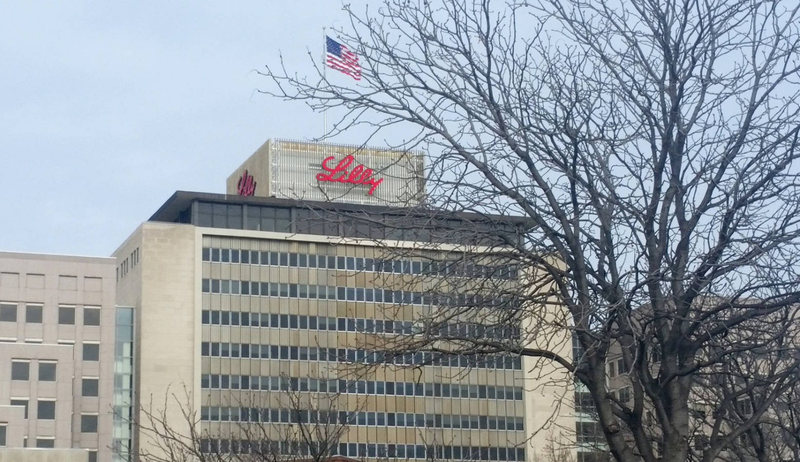 Eli Lilly Corporate Headquarters in Indianapolis