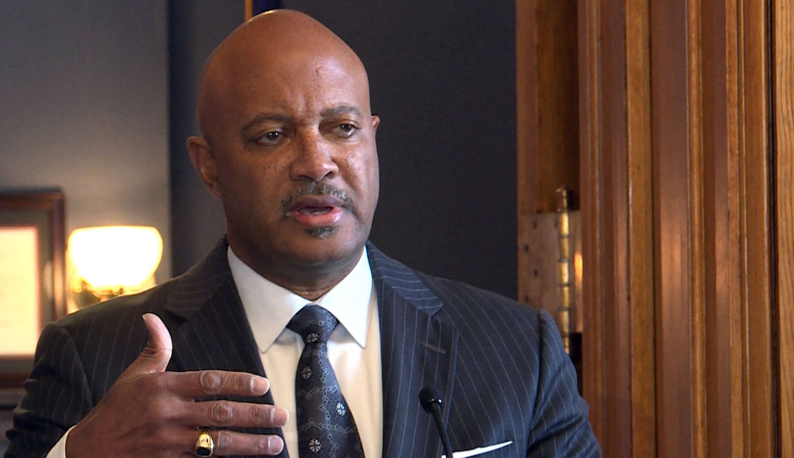 Indiana Attorney General Curtis Hill says Hoosiers reported losing more than $16 million in 2018 from robocall scams. (FILE PHOTO: Lauren Chapman/IPB News)