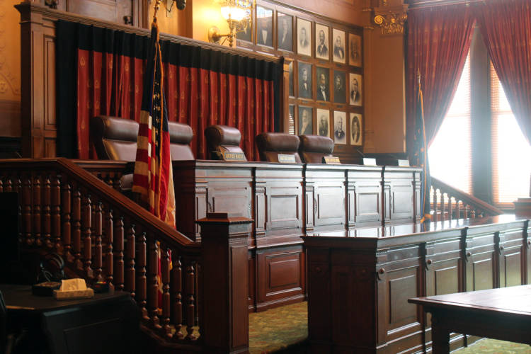 The Indiana Supreme Court. (Lauren Chapman/IPB News)