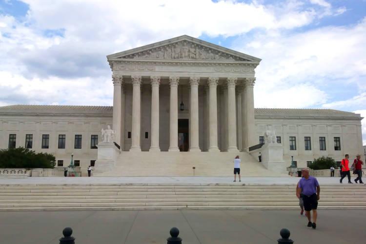 The United States Supreme Court. (Lauren Chapman/IPB News)