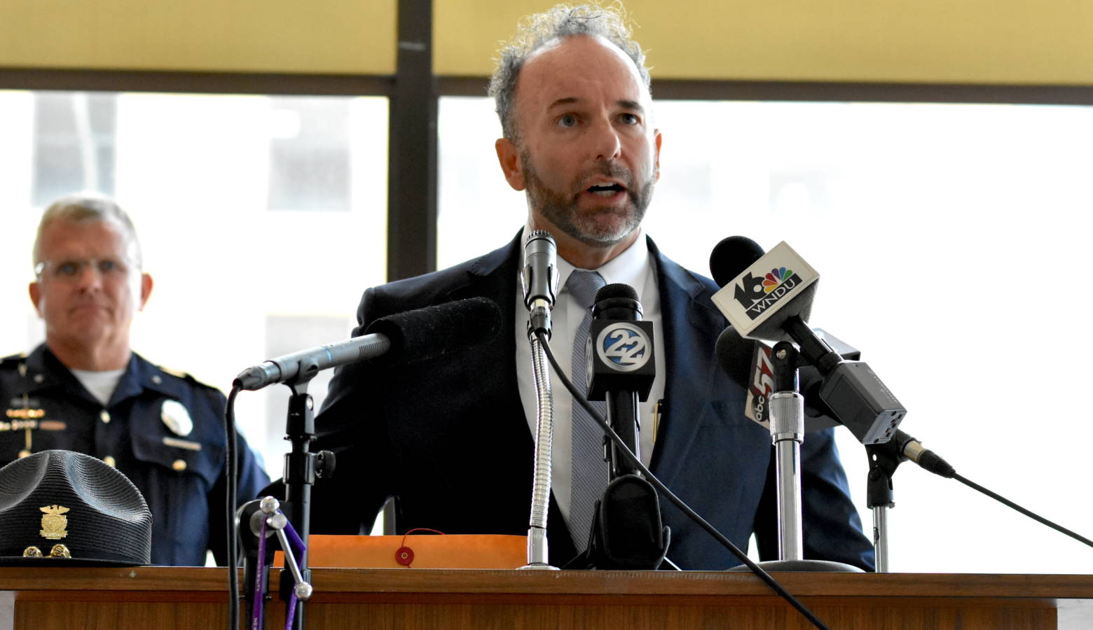 Richard Hertel is the special prosecutor appointed to investigate the June 16 police shooting death of Eric Logan. (Justin Hicks/IPB News)