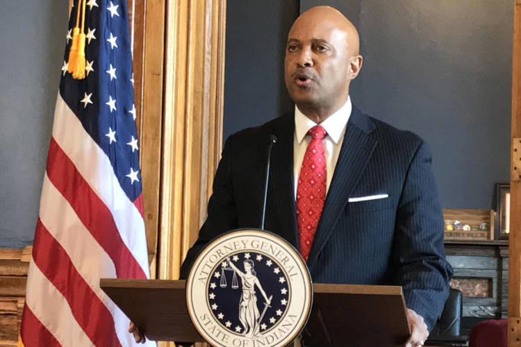 Attorney General Curtis Hill (Brandon Smith/IPB News)