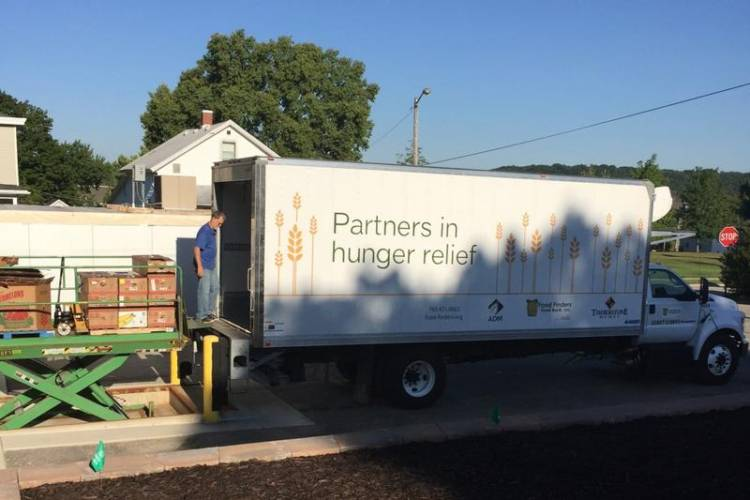 Food Finders is one of the Indiana food banks to receive funding. (FILE PHOTO: Jill Sheridan/IPB News)