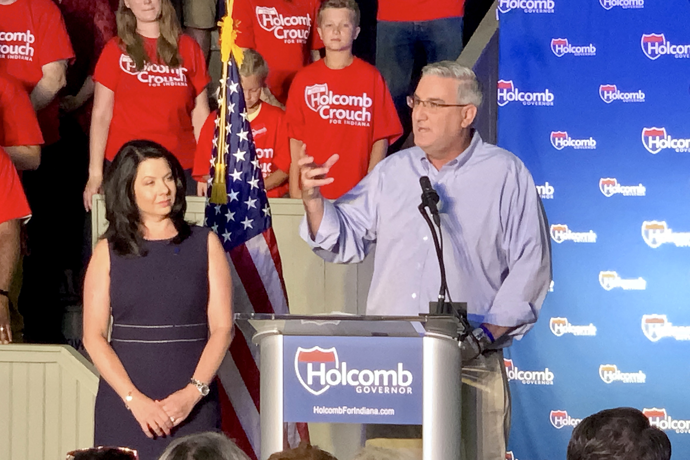 Holcomb's Path To Re-election Likely An Easy One