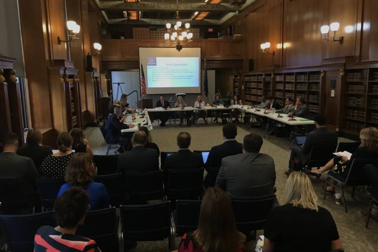 The Governor's Workforce Cabinet voted to reimburse Graduation Alliance for adult education programming on Thursday, Aug. 15. (Justin Hicks/IPB News)