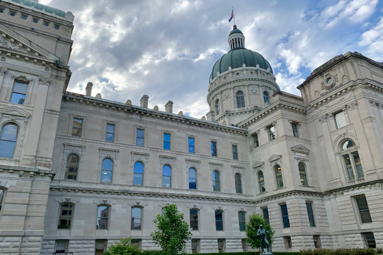 The Indiana Statehouse. (Brandon Smith/IPB News)