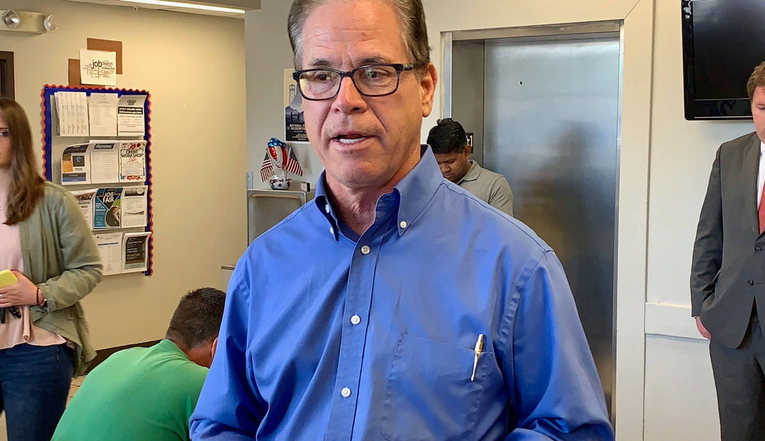 U.S. Sen. Mike Braun (R-Ind.) says he supports President Donald Trump's proposal to import some lower-cost prescription drugs from Canada. (Brandon Smith/IPB News)