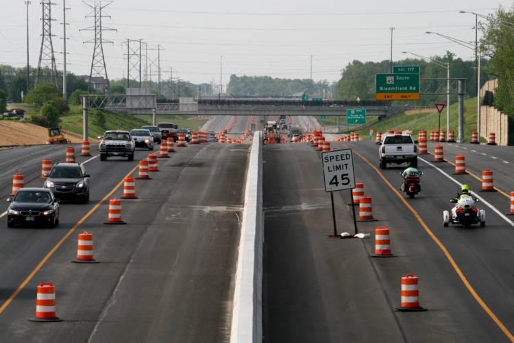 Indiana lawmakers are considering allowing speed cameras in highway construction zones. (ITB495/Flickr)