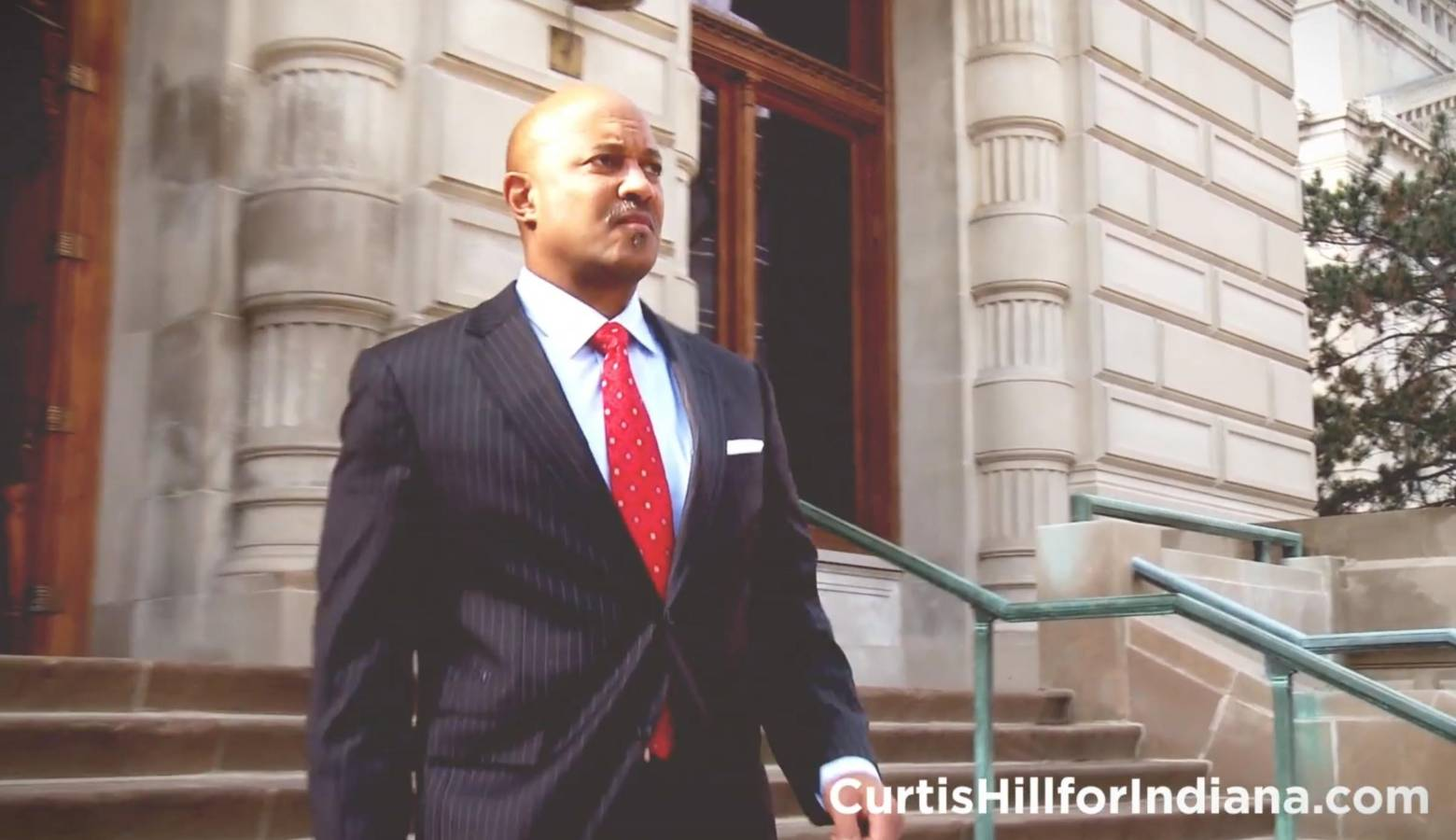 Attorney General Curtis Hill announced his re-election bid via a campaign video. (Curtis Hill for Indiana/Youtube)