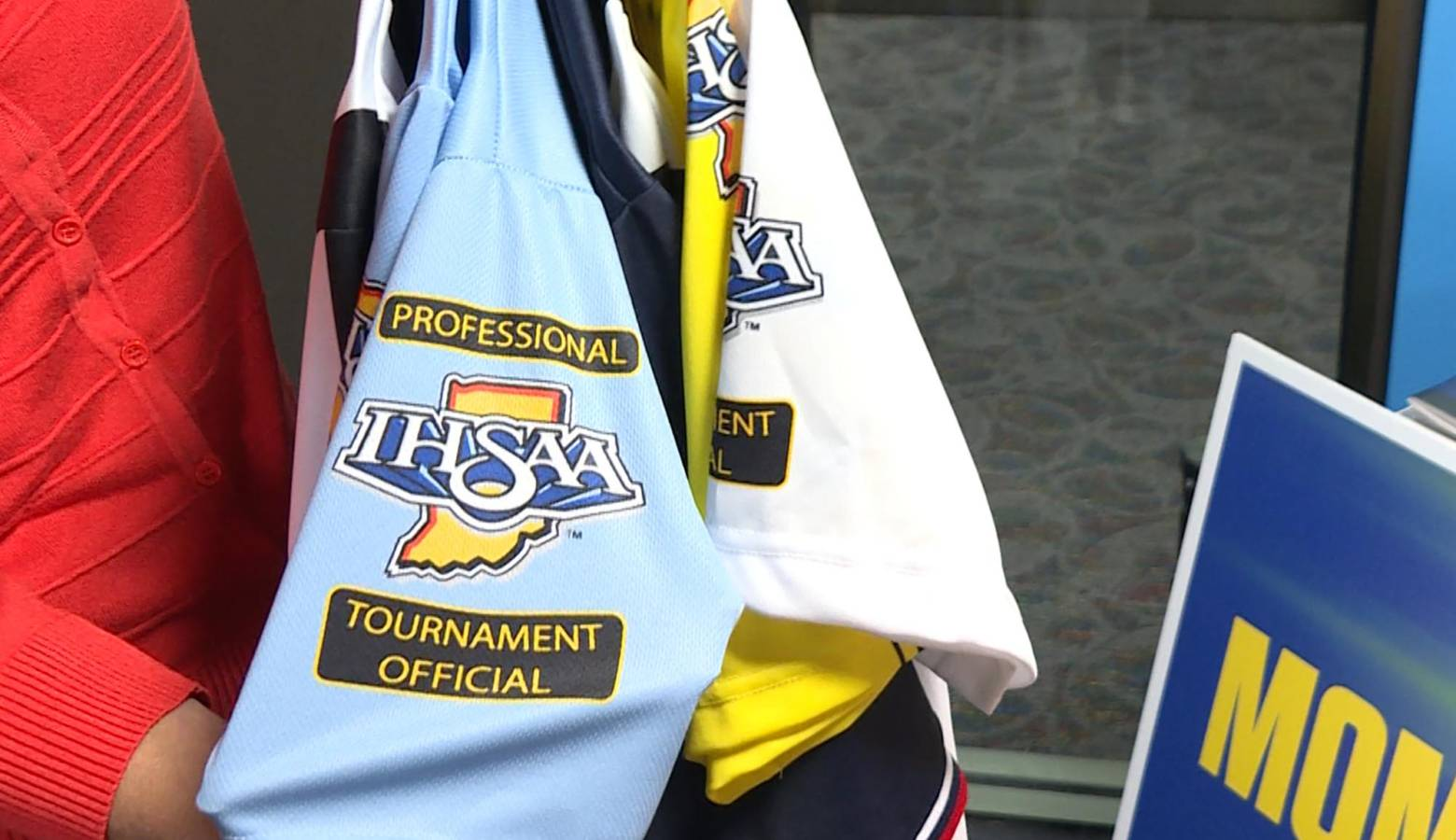 Officials have to make sure their uniforms are up to regulations, which is another expense adding to the pressure on officials already strapped for time and money. (Jeanie Lindsay/IPB News)