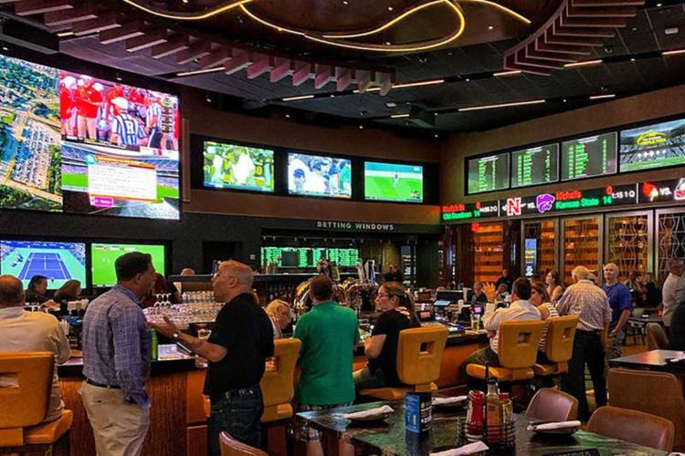 Hoosiers bet more money online in October than in-person at the state's 13 sports betting locations. (Kartoman/Wikimedia Commons)
