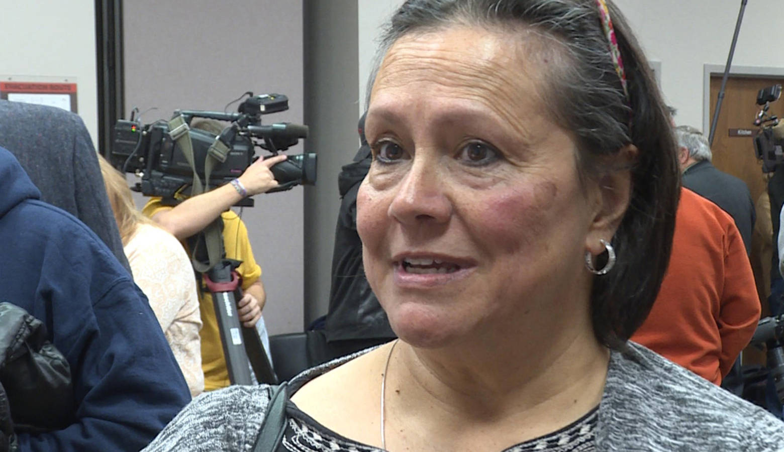Frances Denney is one of two residents representing the Franklin community in the class action lawsuit. (Rebecca Thiele/IPB News)