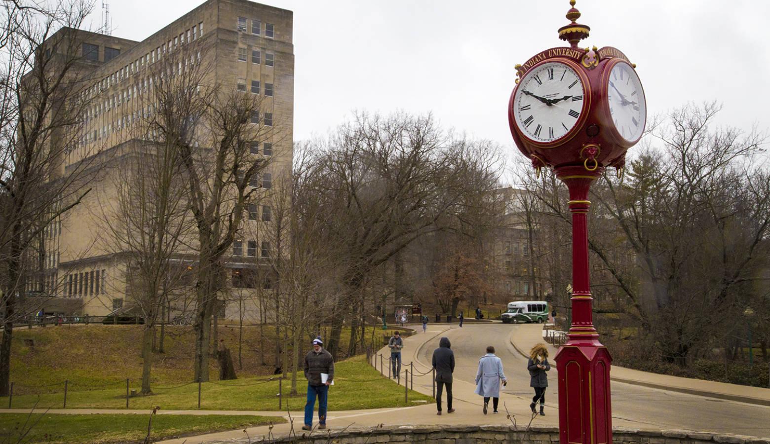 Indiana University campus in Bloomington (FILE PHOTO: Peter Balonon-Rosen/IPB News)