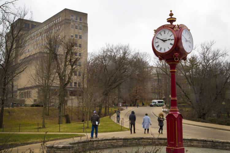 Indiana University campus in Bloomington (FILE PHOTO: Peter Balonon-Rosen/IPB News)